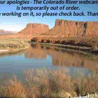 Colorado River & Red Cliffs - Moab, UT