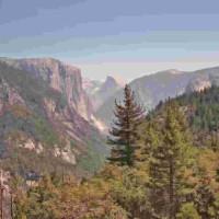 El Capitan & Half Dome - Yosemite, CA