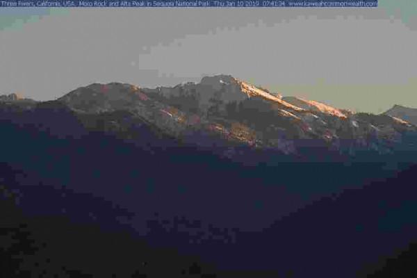 Moro Rock and Alta Peak