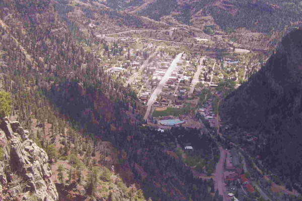 Ouray Town View