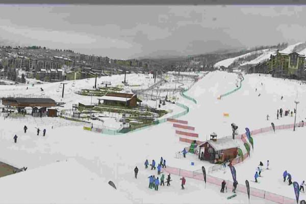 Steamboat Ski Resort Base Area