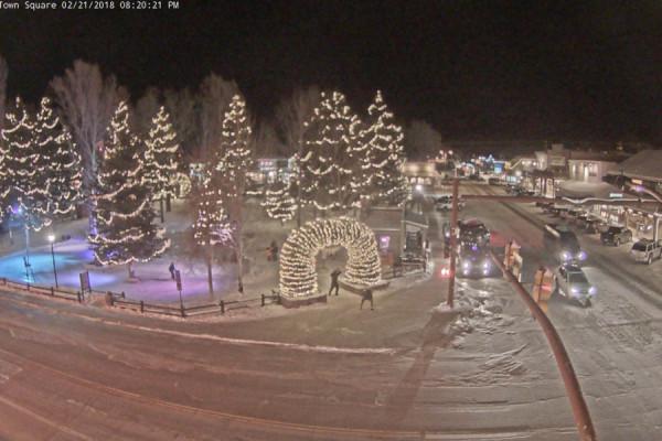 Jackson Hole Town Square