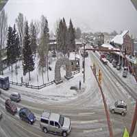 Jackson Hole Town Square Webcam - Jackson, WY