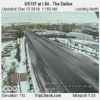 The Dalles Dam View Webcam - The Dalles, OR