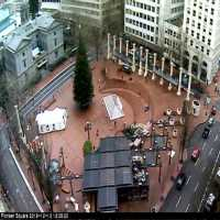 Portland Pioneer Square Webcam - Portland, OR