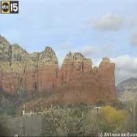 Coffee Pot Rock Webcam - Sedona, AZ