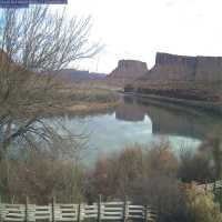 Colorado River & Red Cliffs Webcam - Moab, UT