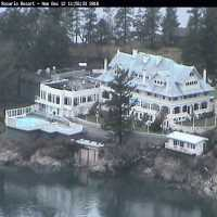 Rosario Resort Moran Mansion Webcam - Orcas Island, WA