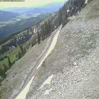 Bridger Bowl Pierres Knob Webcam - Bozeman, MT
