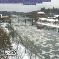 Kennebec River Calumet Bridge Webcam - Augusta, ME