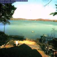 Abakee Cottages Beach Webcam - Laconia, NH