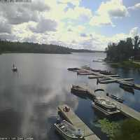 Lake Vermilion Dam Lodge Webcam - Cook, MN