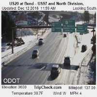 Highway 20 & Highway 97 Webcam - Bend, OR